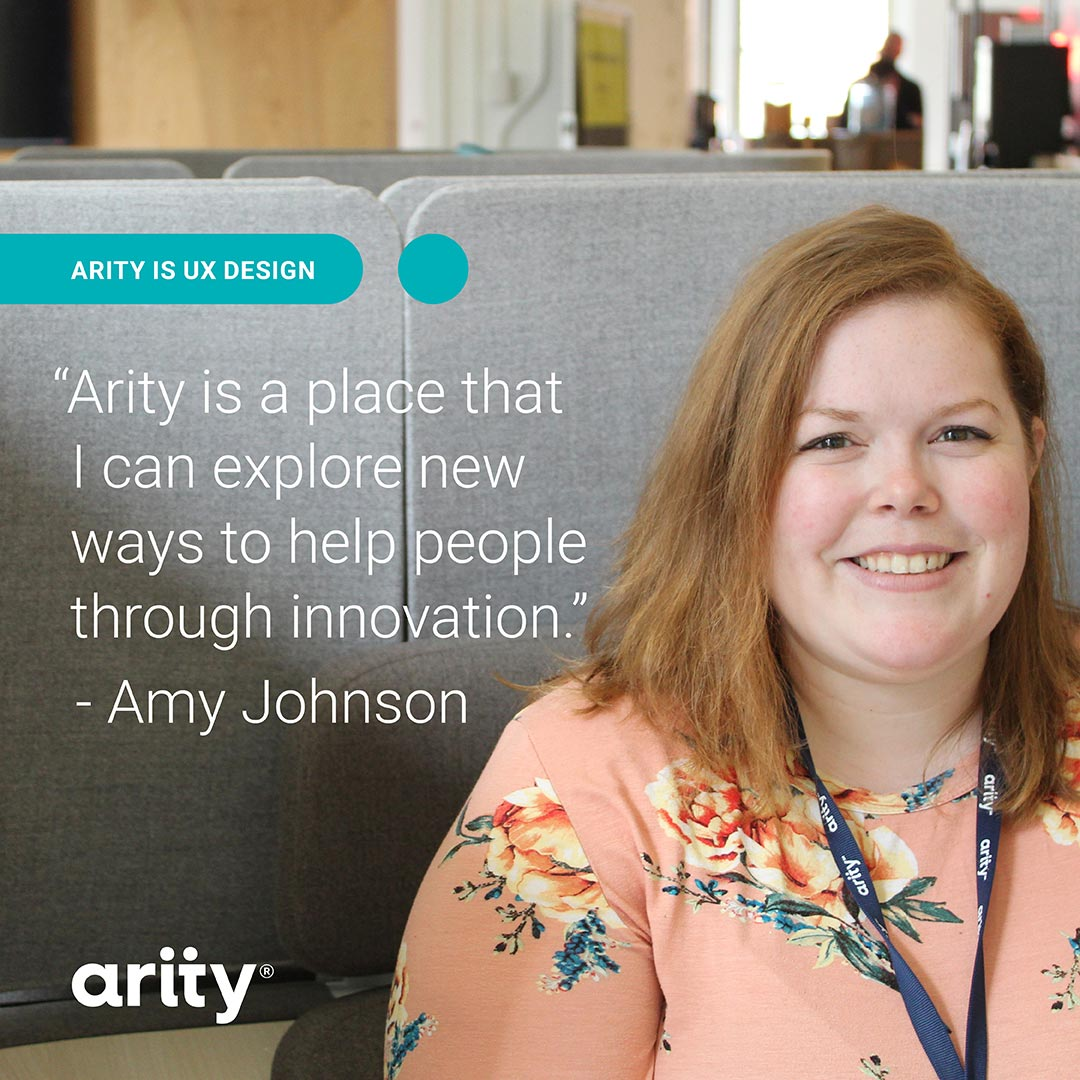 Amy Johnson - Arity is UX Design